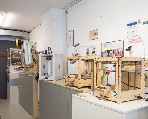 FabLab Luebeck 3D Drucker Ultimaker