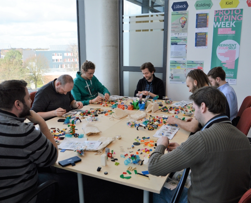 TZL Innovatonswoche Uni Luebeck Lego Serious Play VekselWirk