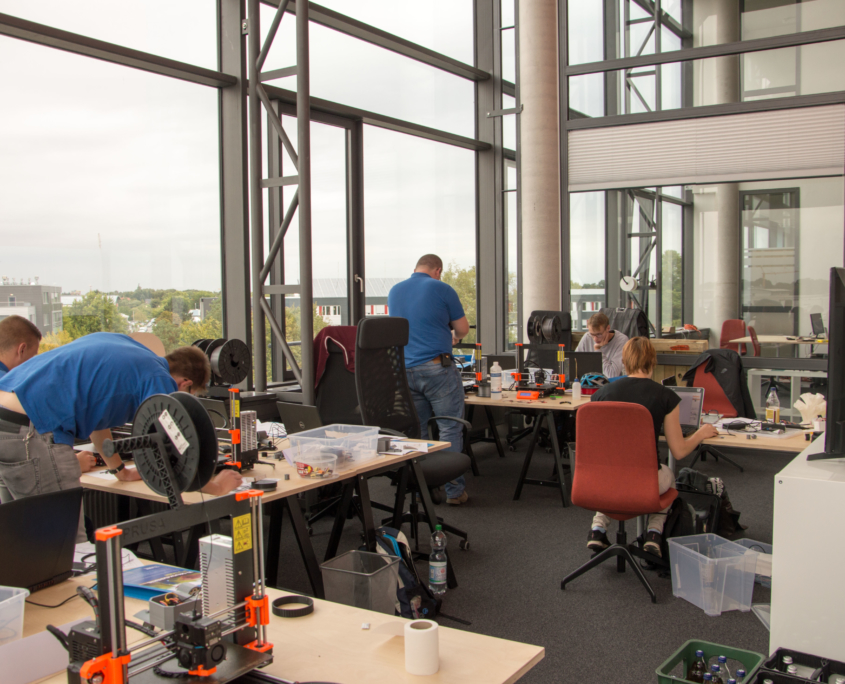 3D-Druck-Workshop der TZL Akademie im Coworking Space