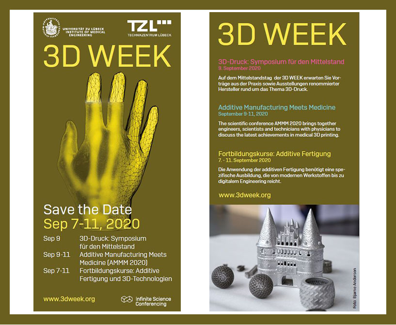 3D Week 2020 Save the date Blogbeitrag